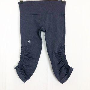 LuLuLemon Size 4 the flow Capri leggings